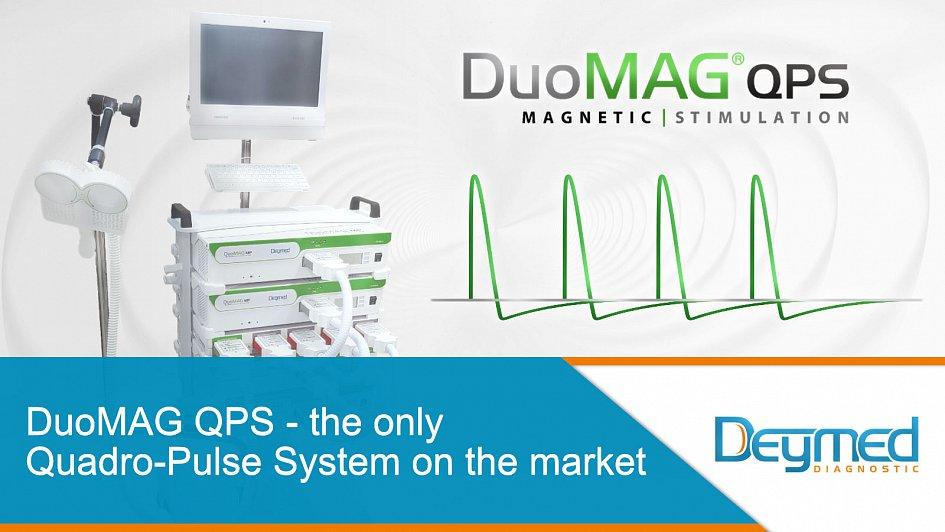 Le DuoMAG QPS est le seul système Quadro-pulse du marché