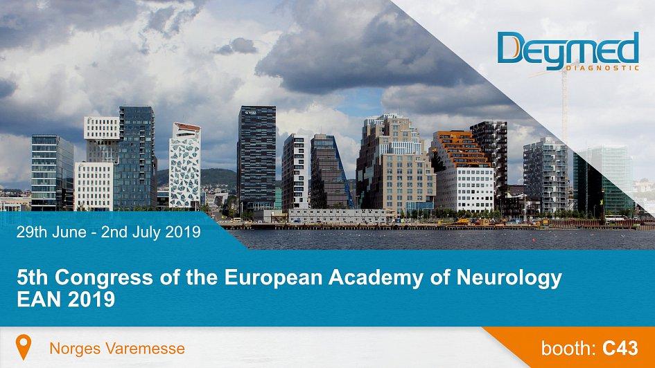 5th Congress of the European Academy of Neurology EAN 2019