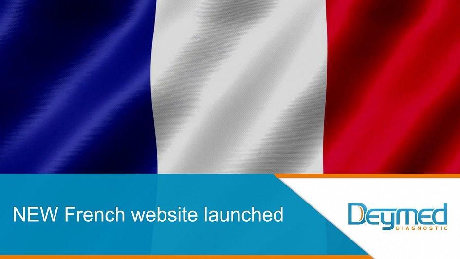 Nová francouzská verze stránek DEYMED