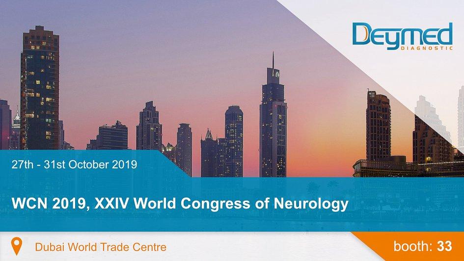 WCN 2019, XXIV World Congress of Neurology