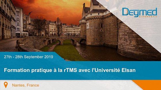 Formation pratique à la rTMS avec l'Université Elsan