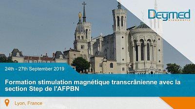 Formation stimulation magnétique transcrânienne avec la section Step de l'AFPBN