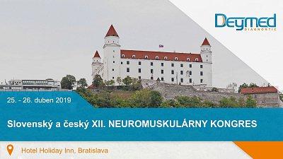 Slovenský a český XII. NEUROMUSKULÁRNY KONGRES